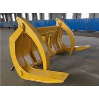 Brand new excavator/wheel loader/trailer/crane log grapple