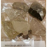 Rough Crystal Quartz Stones