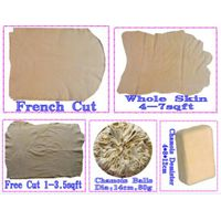 100% fish oil tanned chamois leather for car washing