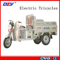 Three wheel used electric tricycle for sale