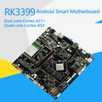 RK3399 Mini-ITX Industrial Android & Linux Commercial Display Intelligent Motherboard