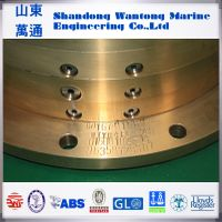 Marine oil lubrication stern shaft sealing apparatus