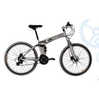Alloy crown suspension bicycle mountain bike mtb bicycle