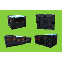 Large Collapsible Plastic Pallet Box for Sale