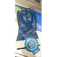 Safety Cuff, Cotton Jersey liner with nitrile fully coating glove thumbnail image