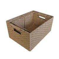 paper rope gift basket thumbnail image
