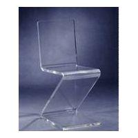 Acrylic Lucite Plexiglass Z Chair thumbnail image
