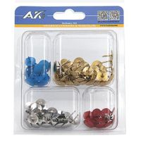 100PCS Thumbtacks Assortment