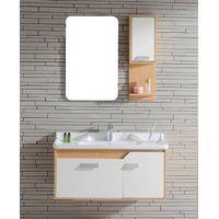 S-1509 Modern Oak wood Bathroom Cabinet