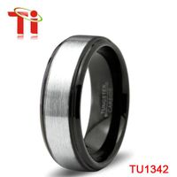 Ti 8MM wedding bands tungsten rings for men