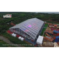 8000 People Big Party Tent with Clear Top for Big Events