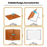 Book Screen Business Portable Mini Projection Screen with PVC Fabric Matte White thumbnail image