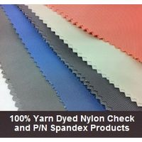 100% Yarn Dyed Nylon Check and P/N Spandex Products