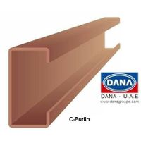 DANA COLD FORMED STRUCTURAL C PURLIN UAE/INDIA/LIBYA