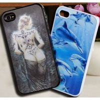 3D mobile phone case for iphone 4/4S/5/5C/5S, Samsung, HTC in high quality