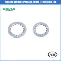 Stainless Steel Tooth Lock Washer / Serrated Washer