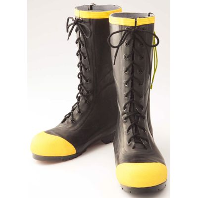 STYLISH EN15090 FIRE AND RESCUE RUBBER BOOTS