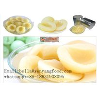 organic troptical canned white peach in light syrup withi half/dice/slice