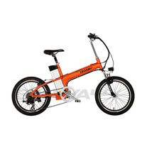 aluminium alloy frame electric bicycle with lithium battery thumbnail image