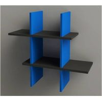 wooden cross shelf for home decoration