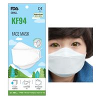 NEW KF94 FDA CE FFP2 4-Ply Filters White Black Child Kid Disposable Medical Surgical Face Mask Korea