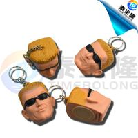 Head voice keychain