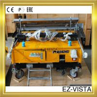 Automatic wall plastering concrete mixer with construction equipment