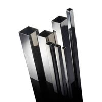 Welded stainless steel pipes for liquid delivery