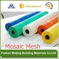 Foshan floor tile mosaic 5x5mm alkali resistant wire fiberglass mesh