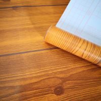 Wholesale wood grain pvc decorative film self adhesive lows contact paper for furniture
