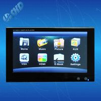 9 inch HD Headrest Monitor with Touchscreen for Audi cars, USB/SD Card,HDMI AV input support