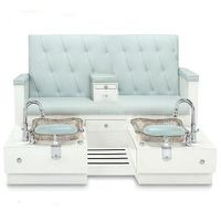 Double pedicure chair bench thumbnail image