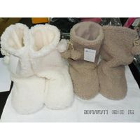 boots for lady cotton fleece