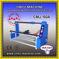JINFU CMJ-60A PVC Laminating film roll cutting machine woodworking machine