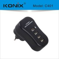 intelligent charger 4 usb port charger C401