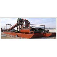 sand-dredging machinery