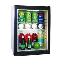 40L minibar, glass door,refrigerator
