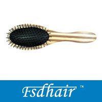wooden hairbrush thumbnail image