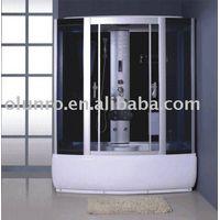 luxury steam shower room with FM radio