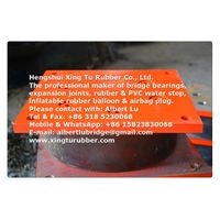 Pot bearing for bridge
