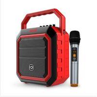 New product 30w Karaoke Bluetooth Speaker with FM Radio and Flashing DJ Lights thumbnail image