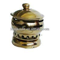 hot pot gold coating machine