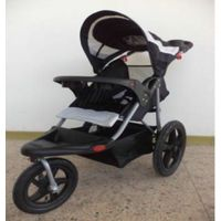 baby strollers separated brake for rear wheel