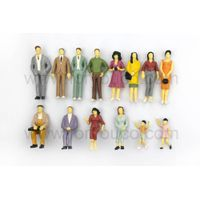 Different Styles of Scale Model Figures Mini Human Figure