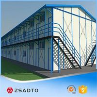 Customized Steel Struture Prefab House Worker Camp thumbnail image