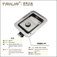 [TANJA ]M40 panel lock/stainless steel electric panel door lock/ recessed handle lock with key