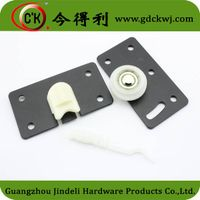 Funiture hardware High quality good Performance Roller For Sliding Door/rollers for sliding doors cl