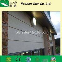 Fiber Cement Woodn texture Siding board/ Plank/ Baten