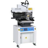 SMD semi automatic solder paste printing machine for PCBA factory