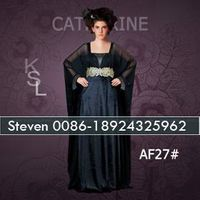 Black Velvet Jalabiya Bat Sleeve Kaftan Embroidery Dubai Caftan Dress